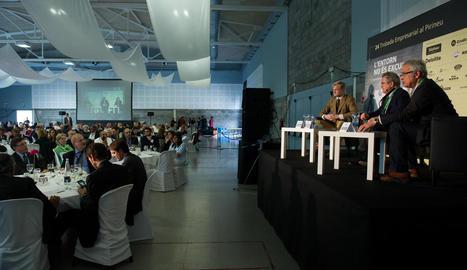 Imatge d'arxiu d'una conferència de la Trobada.