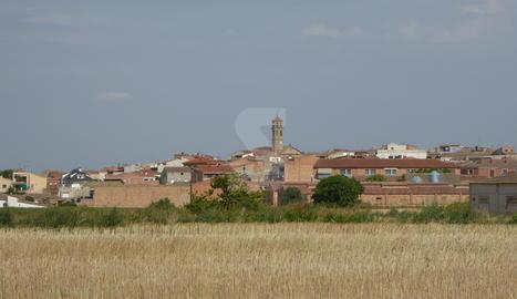 Una vista de Puigverd de Lleida.