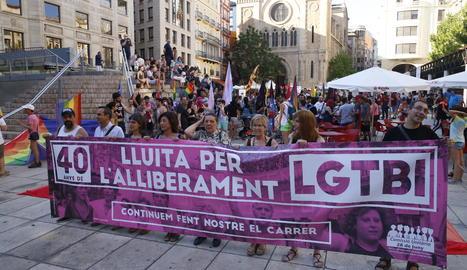 La manifestación ha partido desde la plaza Sant Joan.