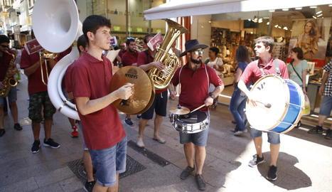 La Festa de la Música envaeix Lleida