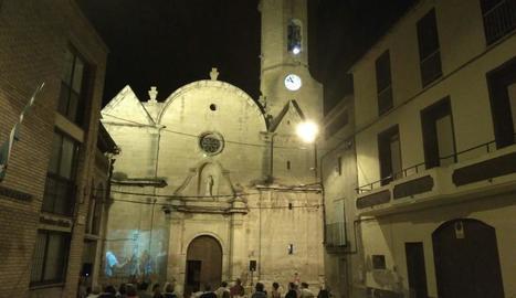 Els diferents tocs de campanes van començar després del sopar popular cap a les 10 de la nit.