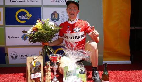 El brasiler Nicolas Sessler, vencedor de la Volta a Lleida