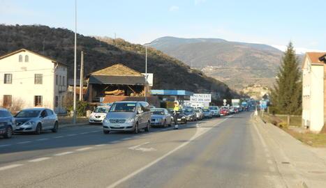 Imatge d'arxiu de la carretera N-260 a Montferrer