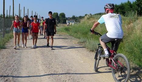 La marxa va tenir arribada i sortida a Torrefarrera.