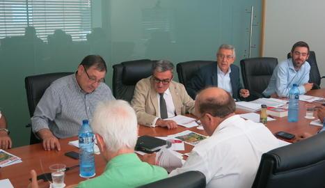 La reunió d'accionistes de Mercolleida.