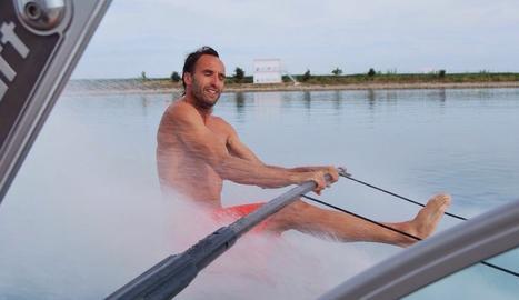 «Al pla de Lleida vam trobar les millors condicions per als esports nàutics»