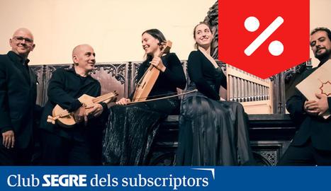 L'ensemble Magister Petrus, dirigit per Mauricio Molina.