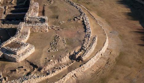 Una de les zones on s'excavarà, al sud-est del jaciment.