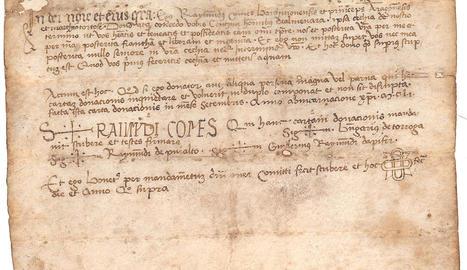 arxiu capitular. Còdexs medievals que es van poder veure durant la setmana de portes obertes. També es van fer actes a l'Arxiu Municipal.