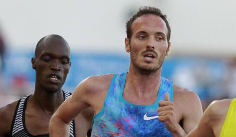 Toni Abadía va guanyar la prova dels 5.000 metres.