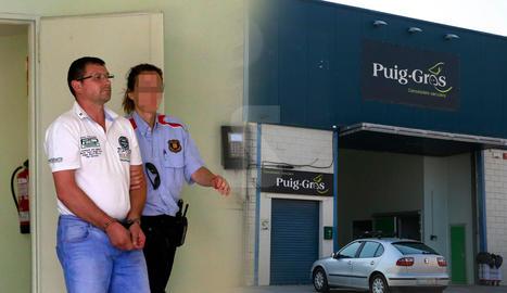 Uns casquets de bala van portar a la detenció de l'empresari acusat de matar el seu cunyat