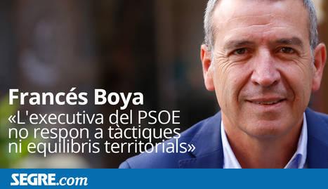Entrevista a Francés Boya, nou membre de l'executiva de Pedro Sánchez