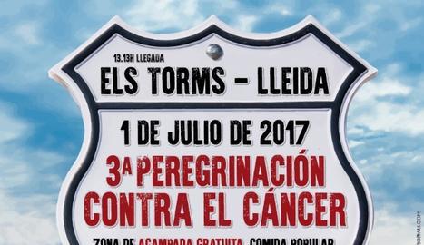 Convoquen un 'pelegrinatge' contra el càncer entre Barcelona i Els Torms