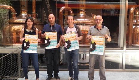 La firma es va oficialitzar ahir a la fàbrica Moritz de Barcelona.