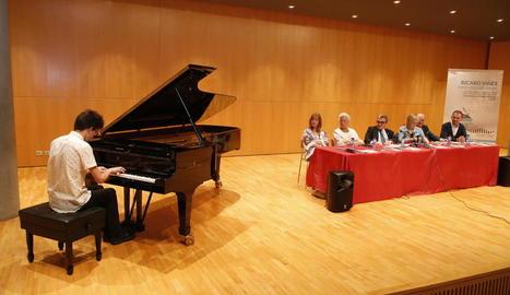 La presentació del concurs va tenir lloc ahir a l'Auditori.