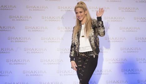 La cantant colombiana Shakira acaba de presentar 'El Dorado'.