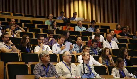 Participants en el congrés internacional d'enginyeria termodinàmica.