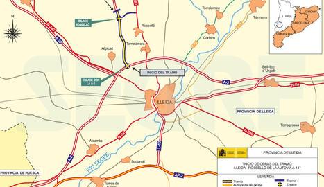 A-14 mapa