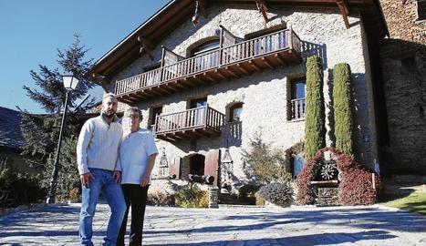 Hotel Rural Mas d'en Roqueta, a Aravell (Alt Urgell).