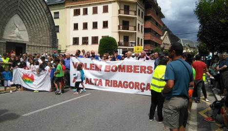 Una imatge de la manifestació