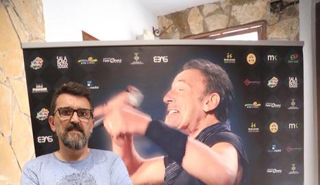 """Josep Maria Pons: """"Vaig canviar el seient que tenia al Camp Nou per un disc signat per The Boss"""""""
