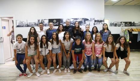Dos equips femenins de l'AEM competeixen en la Donosti Cup