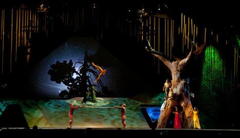 Imatge d'arxiu del Cirque du Soleil a Andorra.