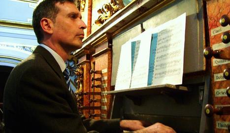 El músic Miquel González, en una imatge d'arxiu.