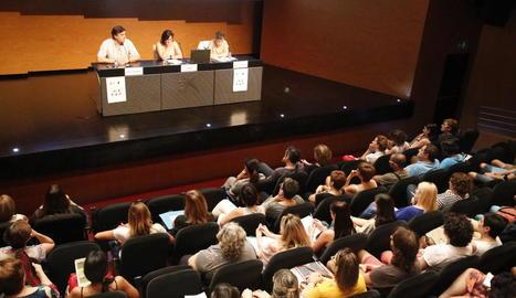 Cullerés va inaugurar l'Escola d'Estiu Jaume Miret.