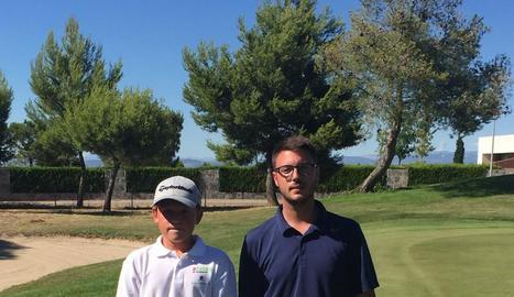 Pedro Luis Bagur, a la dreta, va ser el campió de Quarta.