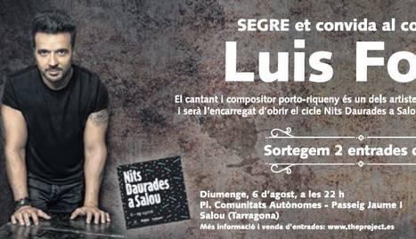 SEGRE et convida al concert de Luis Fonsi