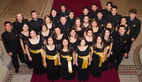 L'Estudio Coral Meridies, de l'Argentina, actuarà el 26 de juliol a l'IEI en el marc del festival.