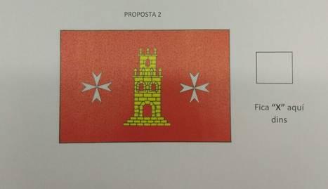 La bandera de Torrelameu.