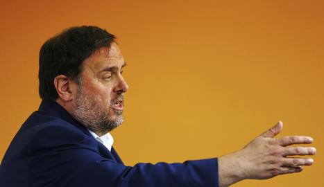 El vicepresident del Govern de la Generalitat, Oriol Junqueras.