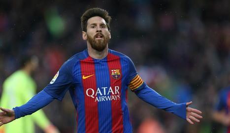 Sort que hi és Messi