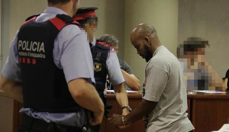 El condemnat, després de conèixer el veredicte del jurat popular.
