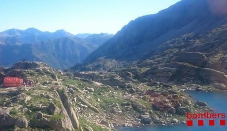 El refugi de Gerber és a 2.460 metres d'altitud.
