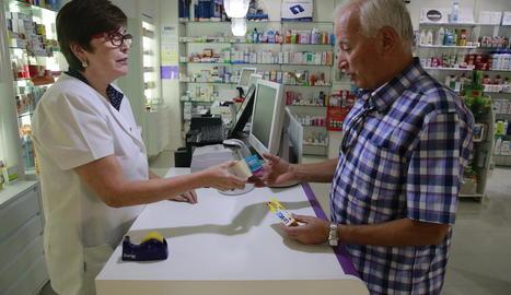 Aquesta farmàcia de Juneda és una de les participants en el programa.