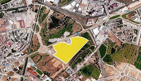 Recreació virtual de l'espai comercial i de lleure que impulsa Carrefour al costat de l'Ll-11. En concret, davant de l'antic hotel Ilerda, però al costat de la Bordeta.