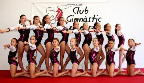 El Gimnàstic Lleida, amb setze gimnastes a l'Estatal de Valladolid