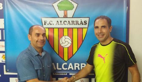 Jordi Mayoral, nou tècnic de l'Alcarràs