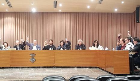 Imatge d'arxiu d'un ple de Balaguer.