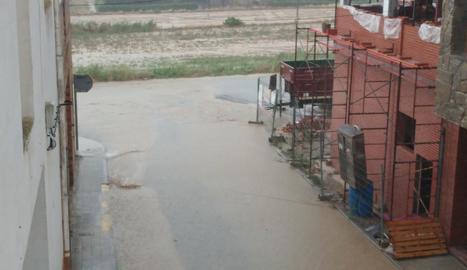 Tempestes amb molta aigua en bona part del Segrià