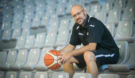 """Marc Larriba: """"Al Barris Nord hi ha un gran ambient de bàsquet, tenim una bona afició"""""""