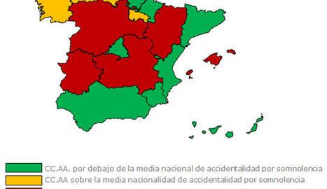 El 40% dels conductors catalans admet que no pareixi mai quan sent somnolència al volant