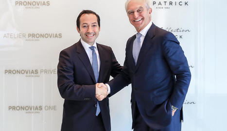 El cap de BC Partners, Jean-Baptiste Wautier, i Alberto Palatchi.