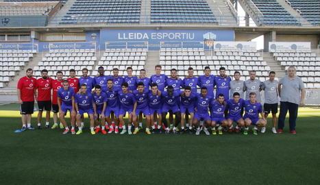 Comença el Lleida 2017-18 amb deu incorporacions i nou staff tècnic