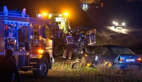 Lleida registra un de cada tres morts de trànsit de Catalunya