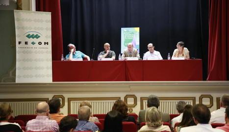 L'Escola d'Estiu de la Fecom es va celebrar ahir a l'Acadèmia Mariana de Lleida.