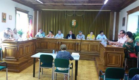 Vielha va celebrar ahir un ple ordinari i un que va forçar l'oposició.